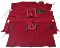 Austin Mini Mk4 to MK6 & Rover Mk7 1976 to 2000 Carpet Set - Wessex Wool Range
